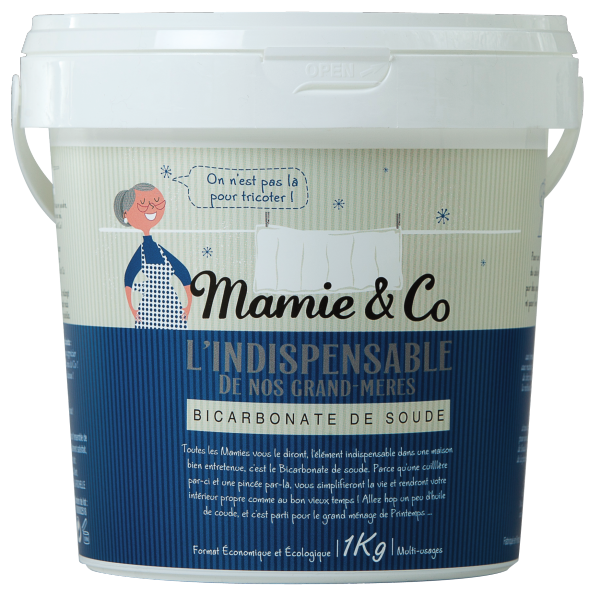 Trucs astuces le bicarbonate de soude mamie co for Detartrage bicarbonate de soude